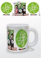 Official The Big Bang Theory Sheldon Bazinga Mug Warner Bros Superhero Quips