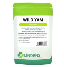 Lindens Mexican Wild Yam Extract 500mg 2-PACK 200 tablets Diosgenin