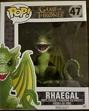 "Funko Pop! The Game of Thrones Rhaegal #47 6"" Dragon New!"