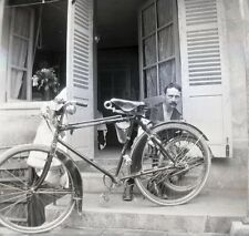 CYCLE c. 1900 - Grand Négatif - FD 241