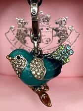 JUICY COUTURE Charm HTF *NWT* PAVE BLUEBIRD - for Bracelet, Purse YJRU3871