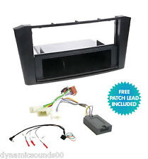 Car Stereo Fitting Kit Fascia Steering Control for TOYOTA Avensis T25 2003-2007