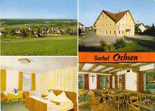 Isny-Beuren bei Ravensburg, Gasthof und Metzgerei Ochsen, Ansichtskarte