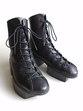 TRIPPEN Germany - Women's Platform BOX Boots RINGER f black EU38-39 US7.5 UK5.5