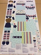 Riley Blake - Dress Up Days - Doll + Clothes Toy Panel - 100% Cotton