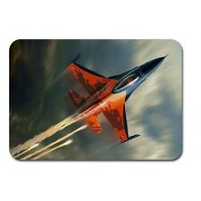 f 16 fighting falco fighter aereo aeromobile Tessile Tappetino Mouse