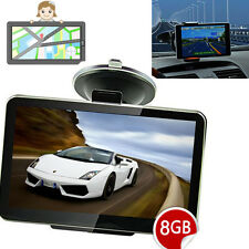 "4.3"" inch Car GPS SAT NAV Navigation Speedcam POI Free Update Lifetime Maps 8GB"