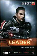 POSTER MASS EFFECT GAME SHEPARD KIRRAE MOREAU PS3 XBOX 360 2 3 N7 N 7 PC PS #3
