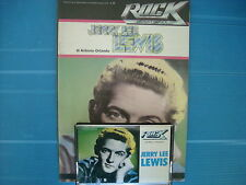 JERRY LEE LEWIS   MUSICASSETTA K7 TAPE++BOOK STORIA DEL ROCK