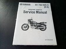 Yamaha XV 750 920 R XV750R XV920R (H-K)  *NOS* Service Manual Werkstatt-Handbuch