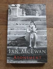 SIGNED - ATONEMENT by Ian McEwan  - 1st/9th UK  Cape PB  2001 - Booker Prize