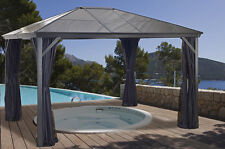 Sojag Verona Hard Top Gazebo 10x14 Structure  and Mosquito Netting