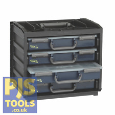 Raaco 136242 Portable Handybox RAA136242 Stackable or Wall Mounted Storage Unit