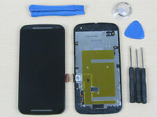 Motorola Moto G2 G 2 XT1063 XT1064 XT1068 LCD Screen Digitizer Touch + Frame