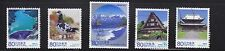 JAPAN 2011 (PREFECTURE) TOYAMA 60TH ANNIV. OF LOCAL LAW COMP. SET 5 STAMPS USED