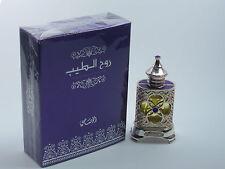 Concentrado de tales 15ml Rasasi Ruh alteeb Arabian oudh Libre De Alcohol halal Aceite