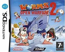 Worms: Open Warfare 2 (Nintendo DS, 2007) Envío Gratis Reino Unido