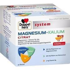 DOPPELHERZ Magnesium+Kalium Citrat system Granulat 40 St