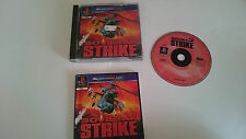 JUEGO COMPLETO SOVIET STRIKE PLAYSTATION 1 PS1 PSX.PAL UK.