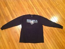 Rebok Super Bowl XL T-Shirt Long Sleeve Size Large