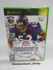 MADDEN 2005 NFL (XBOX) NUOVO SIGILLATO NEW - PAL VERSION