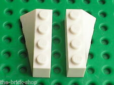 LEGO White Wedges ref 43720 & 43721 / Set 7723 7690 7198 7259 4098 7695 10215