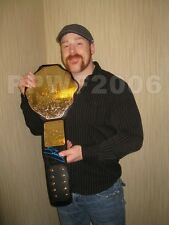 WWE SHEAMUS ADULT SIZE WORLD BELT SIGNED WITH PIC PROOF