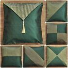 green bed pillow case cover removable cushion designer chair sofa throw BDS EHS