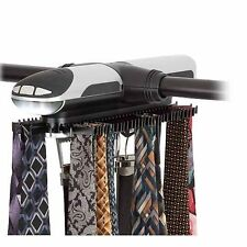 Honey-Can-Do HNG-03222 Battery Powered Rotating Tie and Belt Closet (HNG-03222)