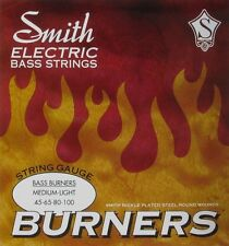 KEN SMITH BBML BURNERS  NICKEL BASS STRINGS, MEDIUM LIGHT GAUGE 4's - 45-100