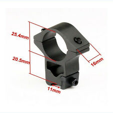Fashion Sight Bracket Scope Mount Rings 11mm Rail Outdoor Camping Hunting Tools