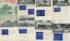 GARLINGHOUSE SOUTHERN HOMES, MODERN HOUSE PLANS 1950S ATOMIC RANCH MID-CENTURY