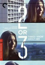 Two or Three Things I Know About Her [Criterion Collect (2009, REGION 1 DVD New)