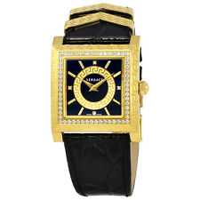 Versace DV-25 Black Dial Ladies Watch VQF050015