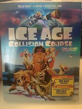 Ice Age Collision Course Blu-ray, 2016, Dvd digital copy, with Slipcover NEW