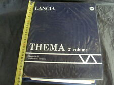 MANUALE ORIGINALE OFFICINA LANCIA THEMA GAMMA 88 TURBO 16V 2° VOLUME NO 8.32