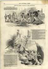 1845 améliorée de nettoyage des rues greasy jour london bridge étapes