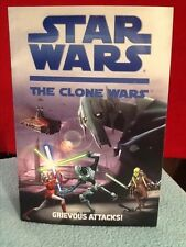 Collectible Chapter Book: STAR WARS The Clone Wars Grievous Attacks!