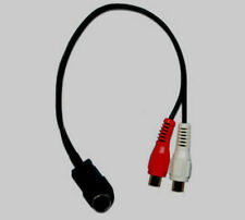 Alpine CDA Ai-Net Radio to Aux RCA Audio Input Adapter Cable