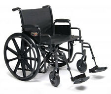 Everest & Jennings Traveler HD Wheelchair 24x18  with Desk Arms