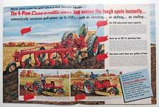 1958 Case 4 Page Tractor Magazine Brochure Ad FEATURES THE MODEL 600 - SENSES