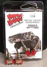 Hoppin Hydros Small Mini Tiny 2 TOGGLE SWITCHES Model Hydraulics Hoppers Dancers
