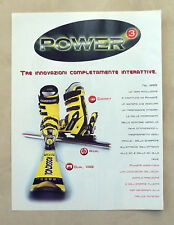 A863-Advertising Pubblicità-1999 - ROSSIGNOL POWER 3