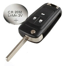 Vauxhall OPEL ZAFIRA ASTRA & INSIGNIA 3 buttons FOB REMOTE KEY CASE + battery