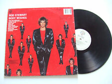 Rod Stewart ‎– Body Wishes - Disco 33 Giri LP Album Vinile UK 1983 Pop Rock