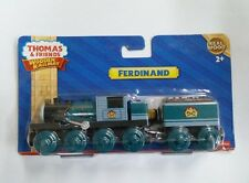 LEARNING THOMAS WOODEN MAGNETIC TRAIN- FERDINAND + TENDER COMBINE W/ CHUGG