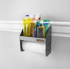 Garage Shelf Rack Caddy Organizer Storage Shelves Wall Holder Paper Towel Roll