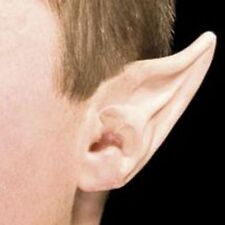Large Space Latex Ear Tips Elf Devil Costume Woochie Makeup FX Prosthetic Long