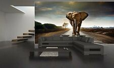 ELEPHANT WALKING Wall Mural Photo Wallpaper GIANT DECOR Paper Poster Free Paste