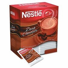 Nestle Hot Cocoa Mix Powder Dark Instant Chocolate Flavor Drink 50 Packets Box